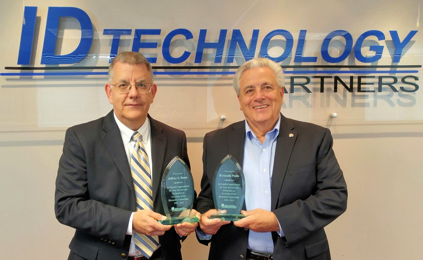 AFCEA Biometric Consortium Awards Mr. Dunn and Mr. Podio - Identification Technology Partners | IDTP